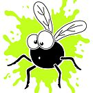 Fly Splat - Green by Calvin Innes