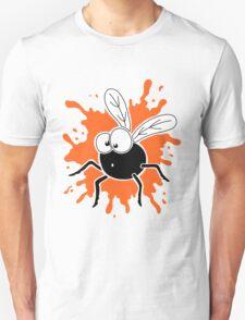 Fly Splat - Orange Unisex T-Shirt