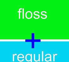 Window hanger, brush, floss, check ups - its all good by dentalphotoart