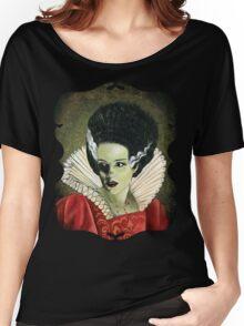 Renaissance Victorian Portrait - Bride of Frankenstein Women's Relaxed Fit T-Shirt