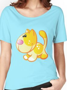 Sunny cute cat Women's Relaxed Fit T-Shirt