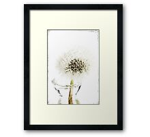 Fine and dandy Framed Print