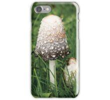 Shaggy Ink Cap (Coprinus comatus) iPhone Case/Skin