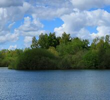 Swanton Morley Lake Panorama by Cyrusdvirus