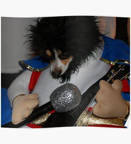 Elvis on American Idol Poster