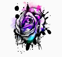 Painted Rose Tee Graphic Womens Fitted T-Shirt