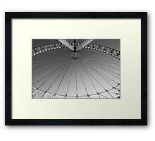 eye round the Eye Framed Print