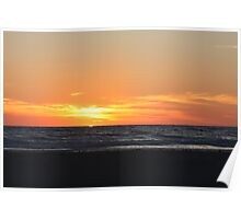 Cable Beach Sunset Broome Poster