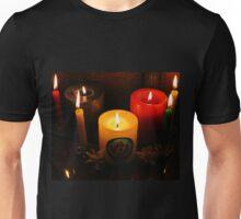 Candle Flames Unisex T-Shirt
