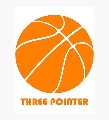 Three Pointer Photographic Print