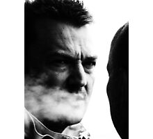 Smoke gets in your eyes Photographic Print