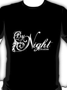By Night Studios - White Logo  T-Shirt