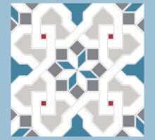 Oriental Pattern - Geometric Design Pt.6 One Piece - Short Sleeve