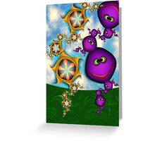 Inner Child - Eat your Fruits and Vegetables Greeting Card