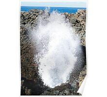 Kiama Blowhole, Illawarra NSW Poster