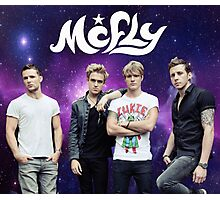 McFly Galaxy Travel Mug Design Photographic Print