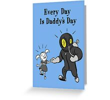 BioShock – Every Day is Daddy's Day Poster (Black) Greeting Card