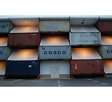 Cosco by night Photographic Print