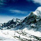 Mysterious Mountains  by kirkgunn