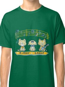 Cute singing kittens Classic T-Shirt