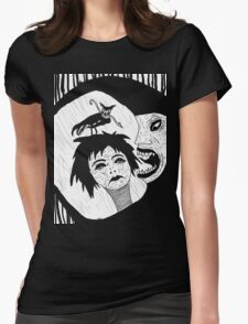 endlessly night Womens Fitted T-Shirt