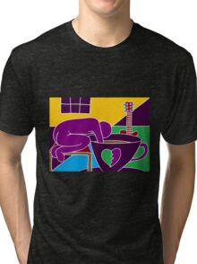 Coffee and broken hearts Tri-blend T-Shirt