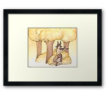 Tunes of the forest Framed Print