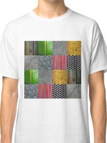 Texture Blocks Classic T-Shirt