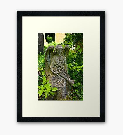 The Trumpet Blows Framed Print