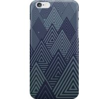 Indigo Mountains iPhone Case/Skin