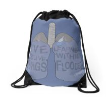 Lungs Drawstring Bag