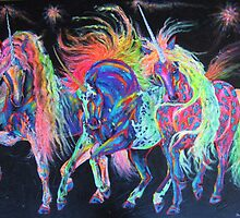 Carnivale Unicorns by louisegreen