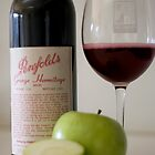 Red Wine with Apple by Brad Airs