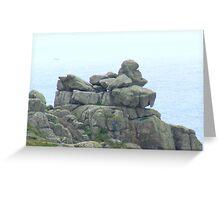 "Gorilla ""Rocks"" Greeting Card"