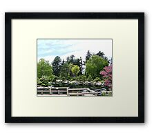 REFLECTION III Framed Print