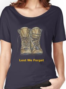 Lest We Forget Women's Relaxed Fit T-Shirt