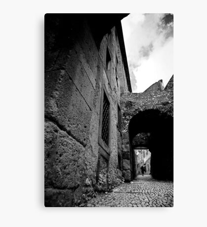Where The Streets Have No Tarmac Canvas Print