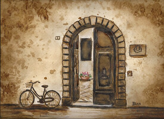 Italian Coffee Break by Dianne  Ilka
