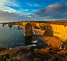 The 12 Apostles The Great  Ocean Rd,  Victoria,Australia by Manfred Belau