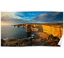 The 12 Apostles The Great  Ocean Rd,  Victoria,Australia Poster