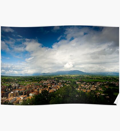 View From Palazzo Borghese Poster