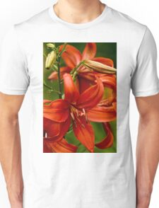 "Asiatic Lily ""Red Tiger"" Unisex T-Shirt"