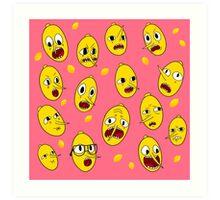 Lemongrab PINK  Art Print