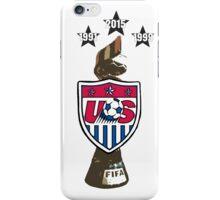 USWNT: World Champions iPhone Case/Skin