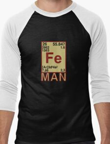 Iron Man Men's Baseball ¾ T-Shirt