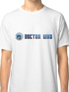 Doctor Who - Logo #5 Classic T-Shirt