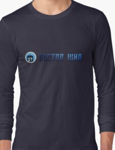 Doctor Who - Logo #5 Long Sleeve T-Shirt