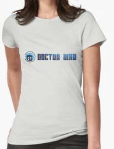 Doctor Who - Logo #5 Womens Fitted T-Shirt