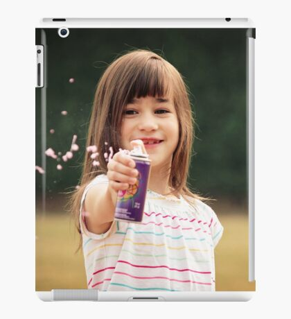 Silly String Spray iPad Case/Skin