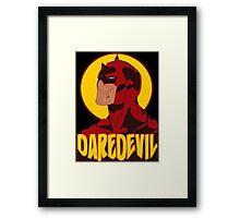 DareDevil Shredded Framed Print